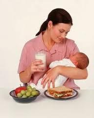Διατροφή της μητέρας που θηλάζει