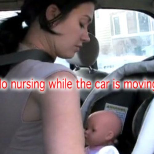Δεν θηλάζουμε ποτέ σε αυτοκίνητο εν κινήσει