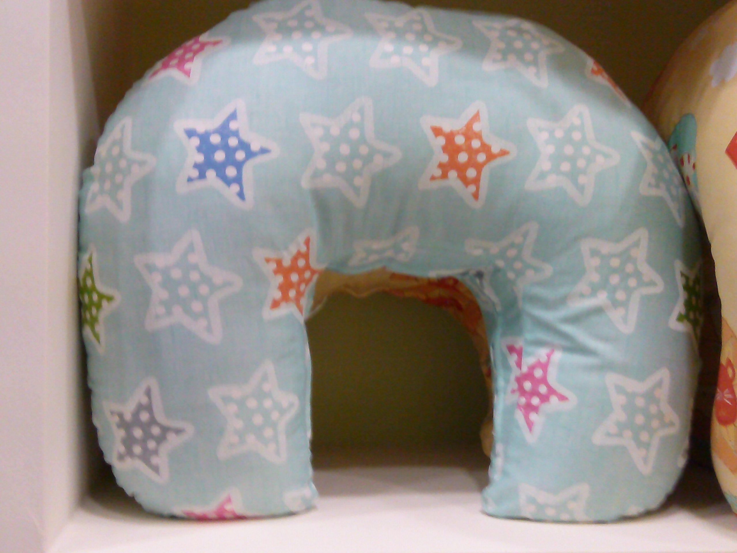 μαξιλάρι θηλασμού - γαλάζιο, αστεράκια