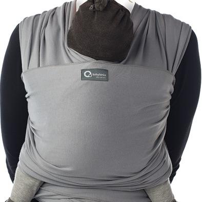 Μάρσιπος Wrap, tricot-slen organic cotton για babywearing - Babylonia-γκρι2