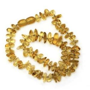 Κολιέ κεχριμπάρι οδοντοφυΐας