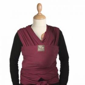 Μάρσιπος Wrap, tricot-slen organic cotton για babywearing - Babylonia - Μπορντώ