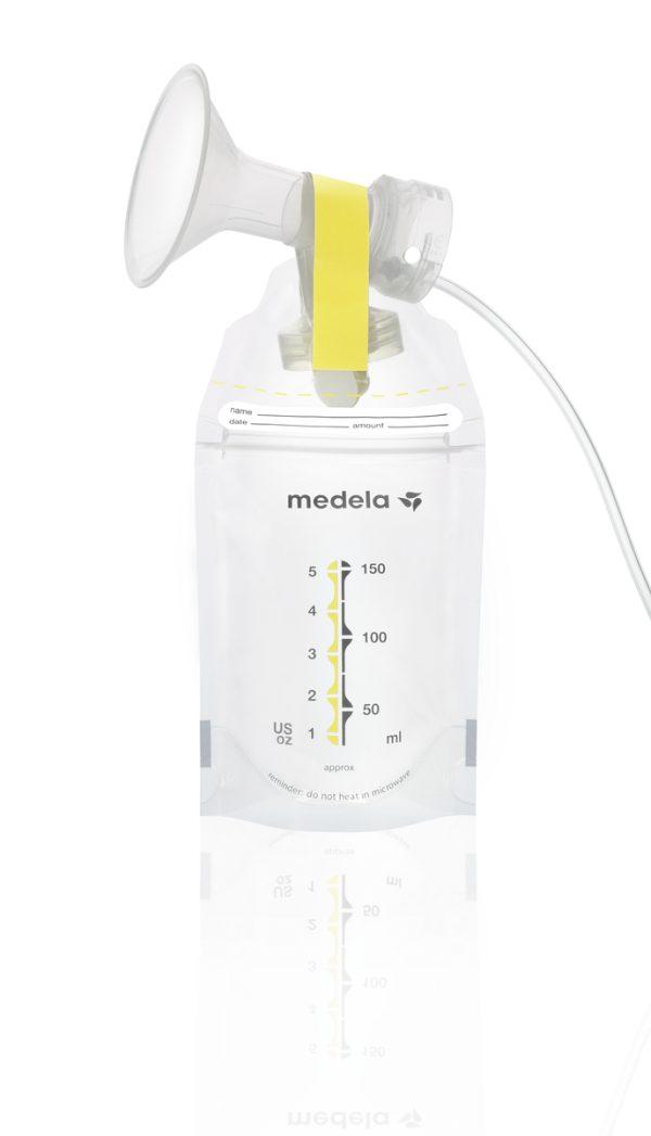 Σακουλάκια αποθήκευσης μητρικού γάλακτος, Pump and Save της Medela