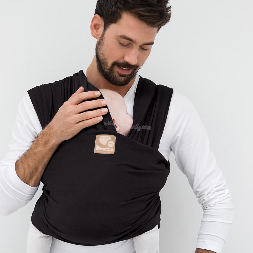 Μάρσιπος Wrap, tricot-slen organic cotton για babywearing - Babylonia