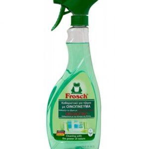 Οικολογικό καθαριστικό για τζάμια με οινόπνευμα, 500ml – Frosch
