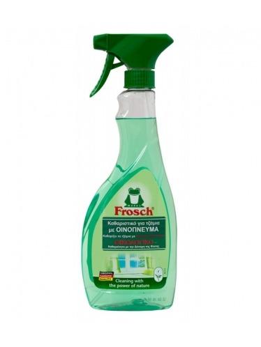 Οικολογικό καθαριστικό για τζάμια με οινόπνευμα, 500ml - Frosch