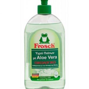 Οικολογικό υγρό απορρυπαντικό πιάτων με Aloe Vera, 500ml – Frosch