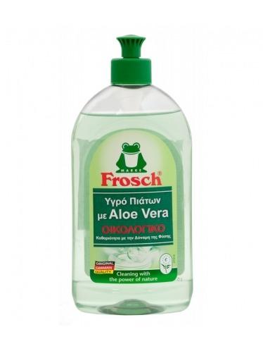 Οικολογικό υγρό απορρυπαντικό πιάτων με Aloe Vera, 500ml - Frosch