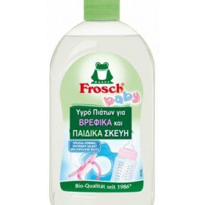 Οικολογικό υγρό καθαρισμού για βρεφικά σκεύη, 500ml – Frosch