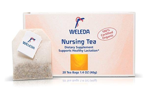 Τσάι θηλασμού της Weleda