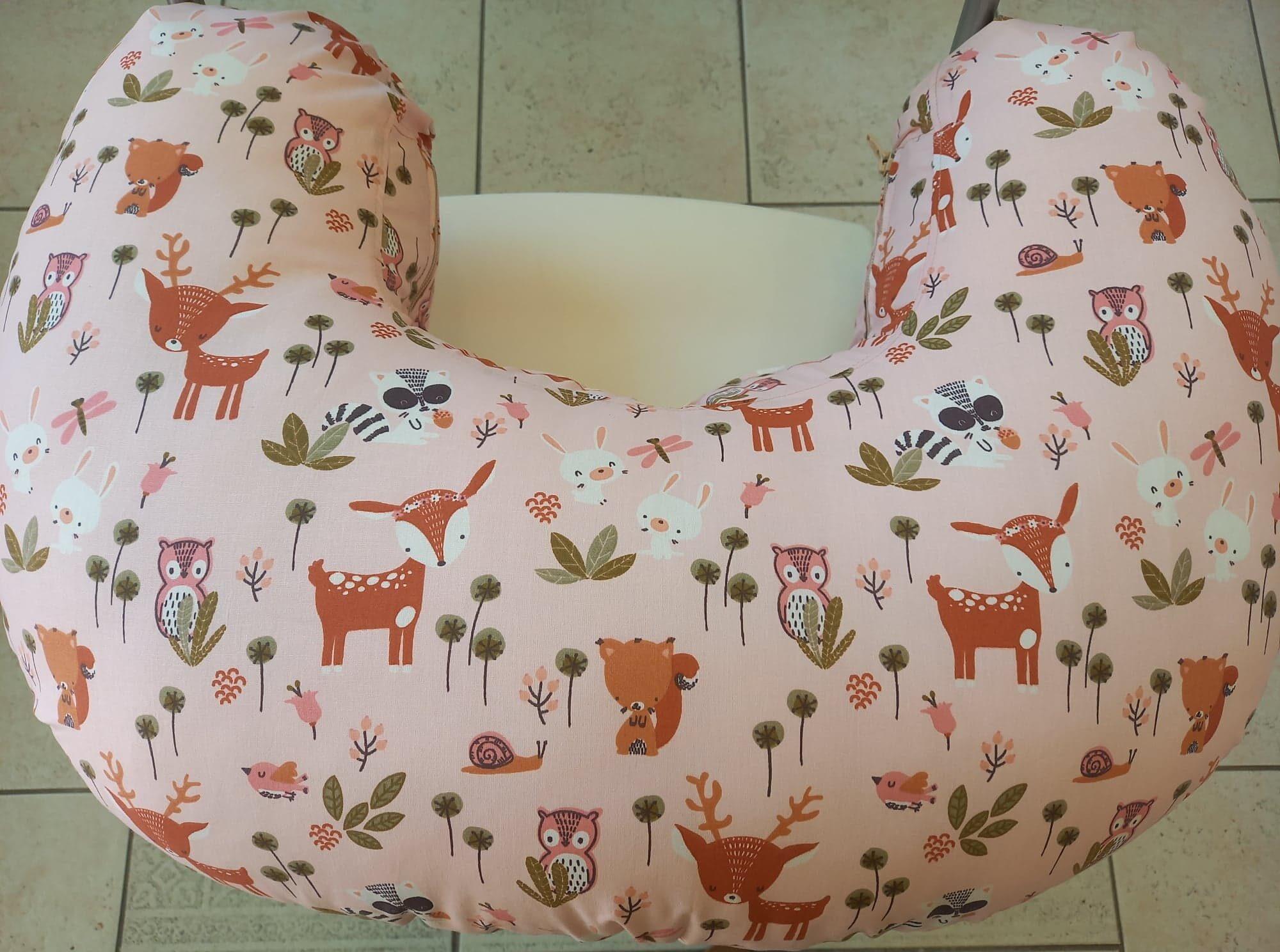 μαξιλάρι θηλασμού-Pink forest
