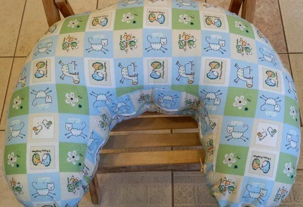 μαξιλάρι θηλασμού patchwork