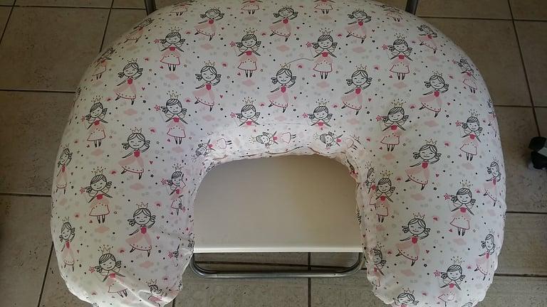 μαξιλάρι θηλασμού - λευκό πριγκίπισσες