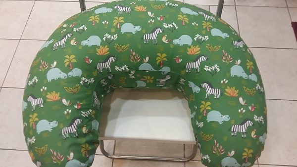 Μαξιλάρι θηλασμού - πράσινο, ζώα της ζούγκλας