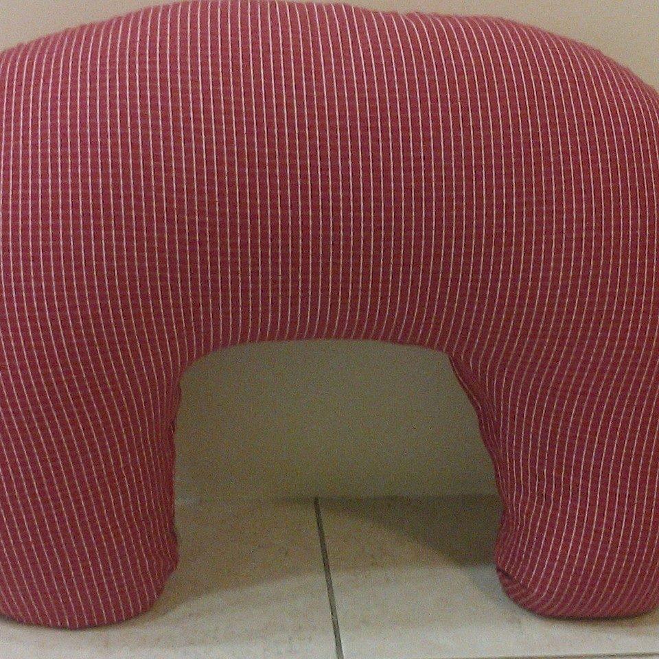 Μαξιλάρι θηλασμού - Κόκκινο καρώ