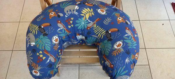 Μαξιλάρι θηλασμού - Μπλε Jungle