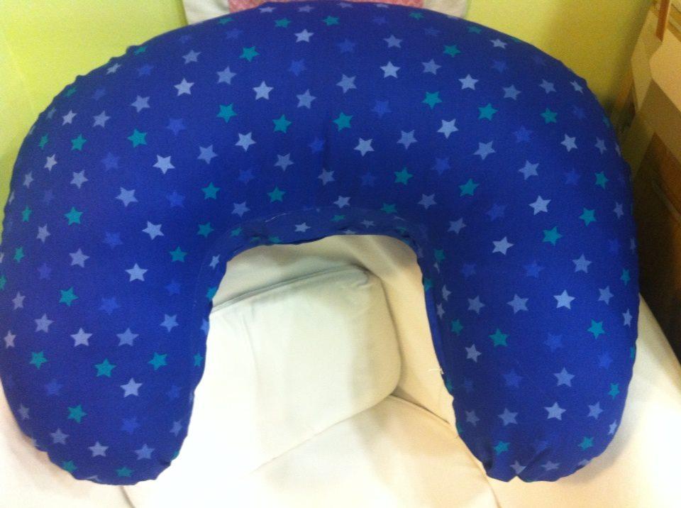 Μαξιλάρι θηλασμού - Μπλε, αστεράκια