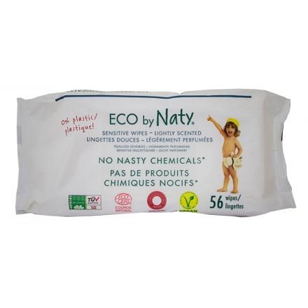 Μωρομάντηλα οικολογικά, ελαφρώς αρωματισμένα Naty (56 τμχ)