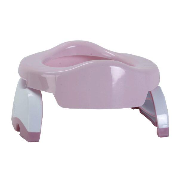 Γιο-γιο ταξιδιού και εκπαιδευτικό κάθισμα τουαλέτας, 2 σε 1, Potette Plus - Ροζ