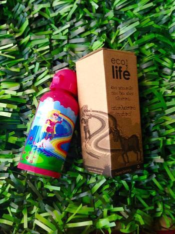 Μπουκάλι παιδικό ανοξείδωτο 500ml - Ecolife - Supergirl