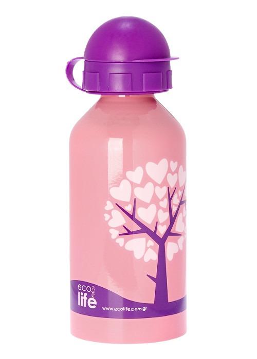 Μπουκάλι παιδικό ανοξείδωτο 500ml - Ecolife - Love tree