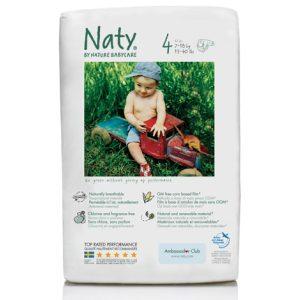 Οικολογικές πάνες Naty maxi No4