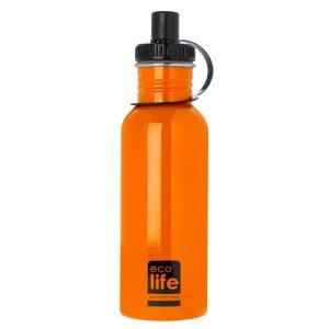 Μπουκάλι μεταλλικό, ανοξείδωτο 600ml – Ecolife