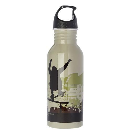 Μπουκάλι μεταλλικό, ανοξείδωτο 600ml - Ecolife - Skate