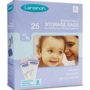 Σακουλάκια αποθήκευσης μητρικού γάλακτος – Lansinoh