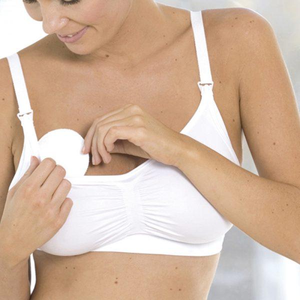 Επιθέματα στήθους πλενόμενα, μεταξωτά - Cariwell