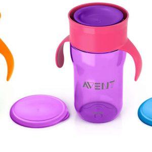 Ποτήρι για νήπια, 360o -340ml – 12μηνών+ – Philips Avent