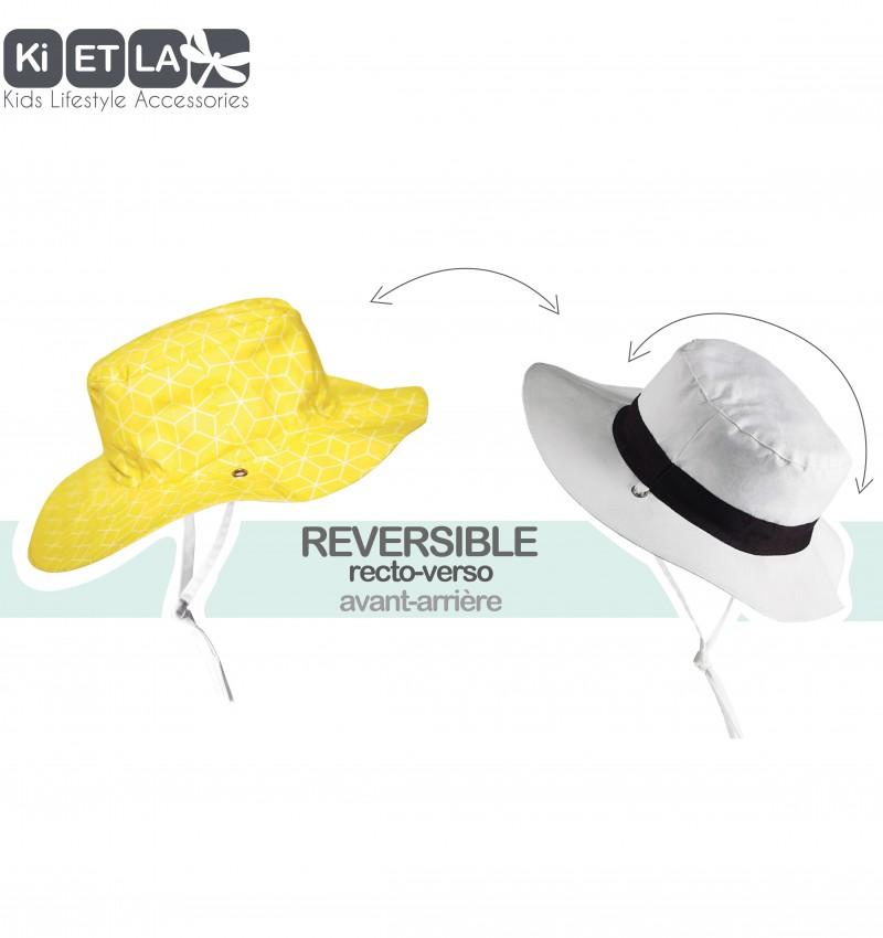 Καπέλο δύο όψεων, με αντηλιακή προστασία UV50 - KiETLA