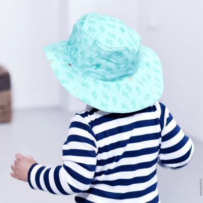 Καπέλο δύο όψεων, με αντηλιακή προστασία UV50 - KiETLA - Βεραμάν, κάκτοι