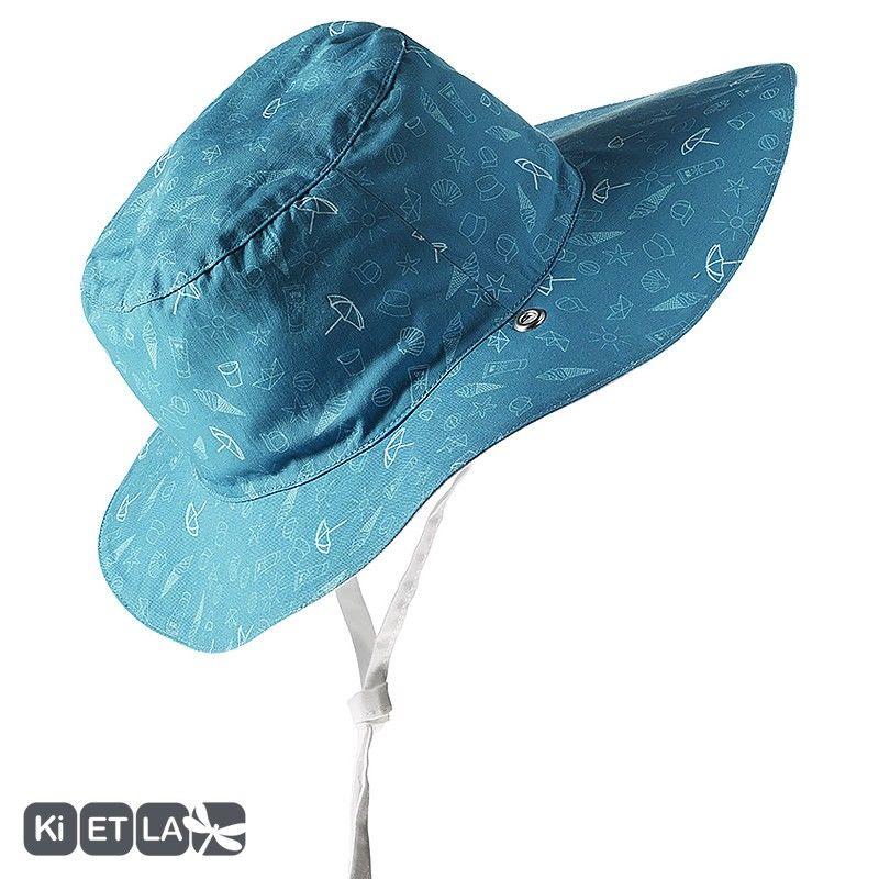 Καπέλο δύο όψεων, με αντηλιακή προστασία UV50 - KiETLA -Swimming pool