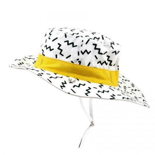 Καπέλο με αντηλιακή προστασία UV50 - KiETLA- Zig zag