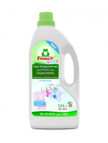 Οικολογικό υγρό απορρυπαντικό ρούχων για βρεφικά και παιδικά ρούχα - 1,5lt - Frosch