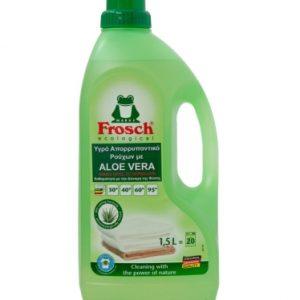Οικολογικό απορρυπαντικό υγρό πλυντηρίου ρούχων με Aloe Vera, 1,5lt – Frosch