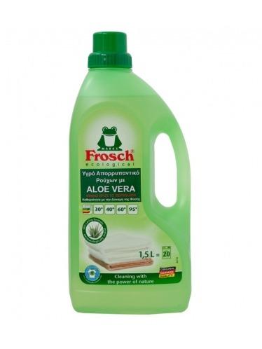 Οικολογικό απορρυπαντικό υγρό πλυντηρίου ρούχων με Aloe Vera, 1,5lt - Frosch
