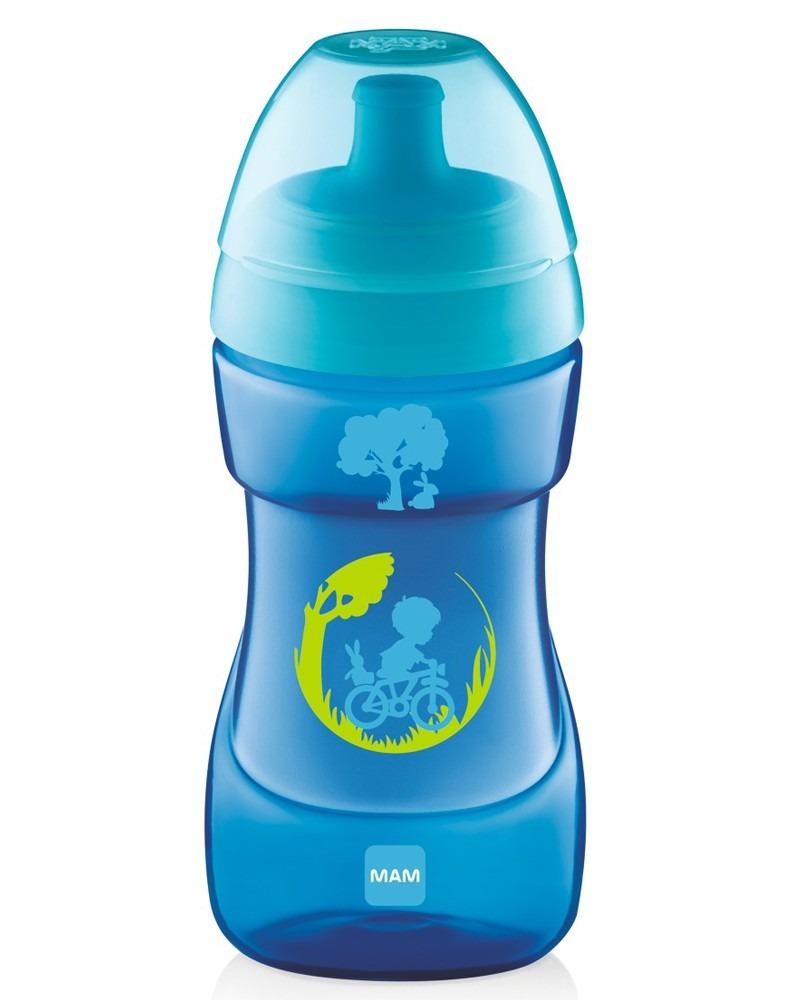 Ποτηράκι Sports Cup, 12+ - MAM - Μπλε