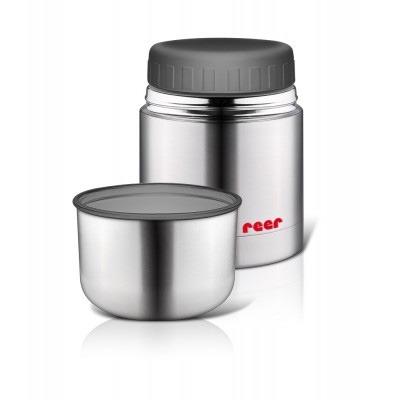 Ισοθερμικό δοχείο φαγητού 350 ml, από ανοξείδωτο ατσάλι – Reer