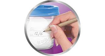 Δοχεία αποθήκευσης μητρικού γάλακτος - Philips Avent
