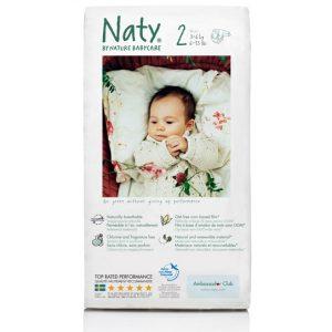 Οικολογικές πάνες Naty No2