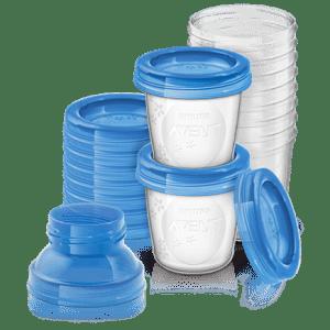Δοχεία αποθήκευσης μητρικού γάλακτος – Philips Avent