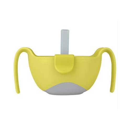Μπωλάκι με καλαμάκι - BBox - Κίτρινο