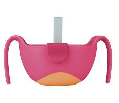 Μπωλάκι με καλαμάκι - BBox - Ροζ