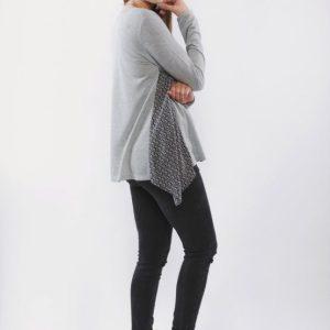 Μπλούζα θηλασμού – Geometry tricot
