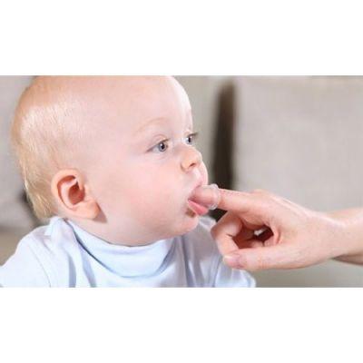 Οδοντόβουρτσα δακτύλου, σιλικόνης - Babyono
