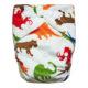Πλενόμενη υφασμάτινη πάνα, χνουδωτή, Pocket One size – Funky Monkey