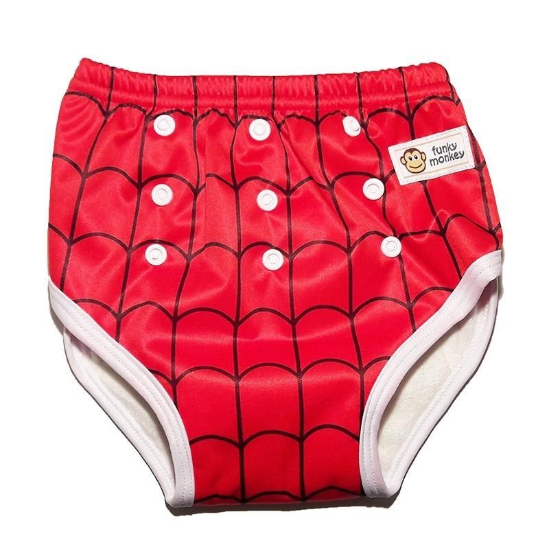 Βρακάκι εκμάθησης τουαλέτας, One size – Funky Monkey - Spiderman