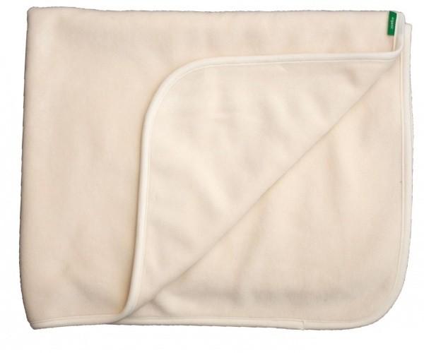 Κουβέρτα μωρού από οργανικό βαμβάκι fleece - Popolini